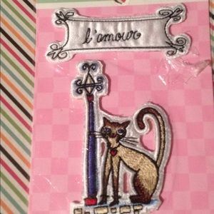 Vintage Old Stock Cat Patch